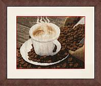 """Набор для вышивания крестом """"Ароматный кофе"""""""