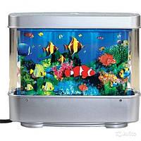 Светильник аквариум, 22х30, Ночник рыбки FiSH - светодиодный, подсветка, ночник, с рыбками