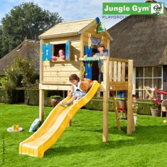 Детские игровые площадки из дерева