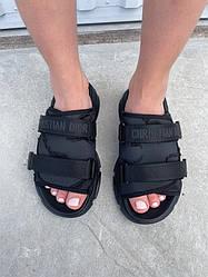 Dior Slippers Black