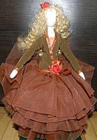 Текстильная авторская кукла ручной работы для интерьера, Оригинальный подарок на торжество