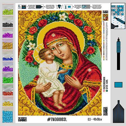 TWD60003 Набір алмазної вишивки Релігія-3, фото 2