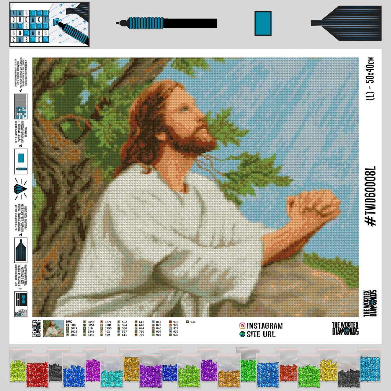 TWD60008 Набор алмазной вышивки Религия-8