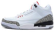 Баскетбольные кроссовки Nike Air Jordan Retro белые