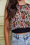 Блуза колір чорний розмір M SKL87-297705, фото 5