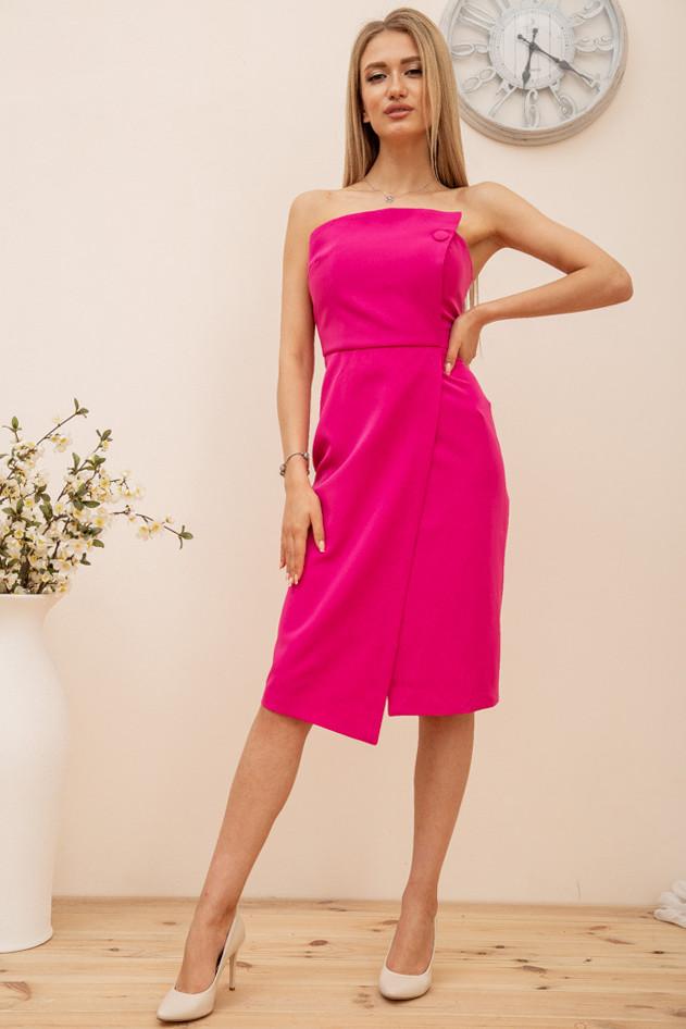 Сукня колір малиновий розмір 44 SKL87-301886