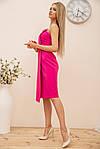Сукня колір малиновий розмір 44 SKL87-301886, фото 2