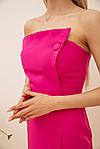Сукня колір малиновий розмір 44 SKL87-301886, фото 4