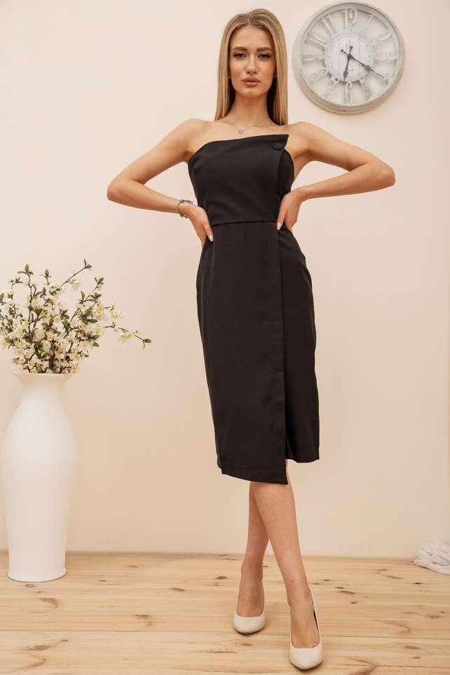 Платье цвет черный размер 42 SKL87-301890
