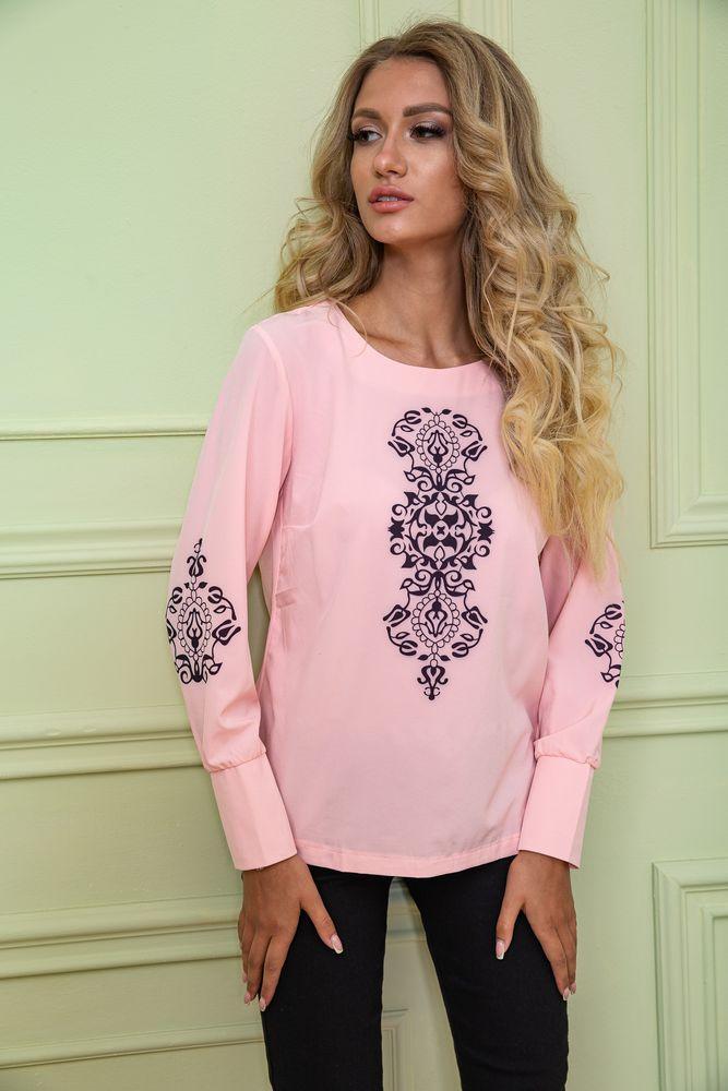 Блуза жіноча колір рожевий розмір 42 SKL87-297828