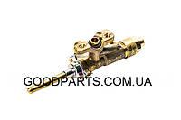 Кран газовый средней горелки для газовой плиты Gorenje 304981