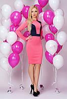 Красивое розовое платье от производителя. Размеры 42-48