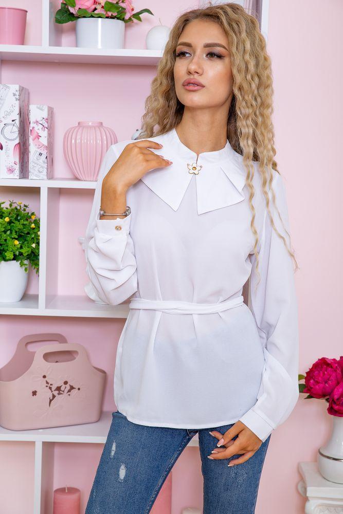 Блуза женская цвет белый размер 44 SKL87-298017