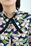 Блуза жіноча колір синій розмір 34 SKL87-298023, фото 4