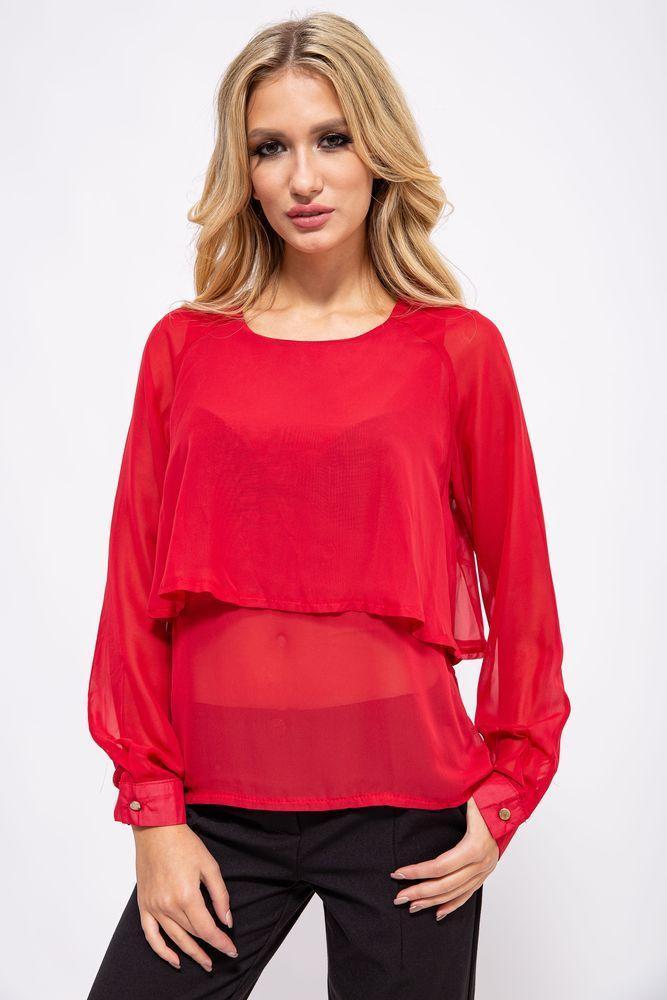Блуза женская цвет красный размер 36 SKL87-298028