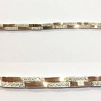 Серебряный браслет для женщины Твинс