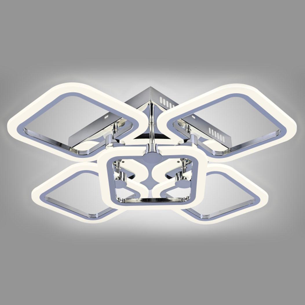 Люстра LED 87-19423/4+1 CR 120W