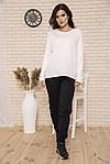 Лонгслив женский цвет молочный размер L SKL87-300648, фото 2