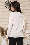 Лонгслив женский цвет молочный размер L SKL87-300648, фото 4