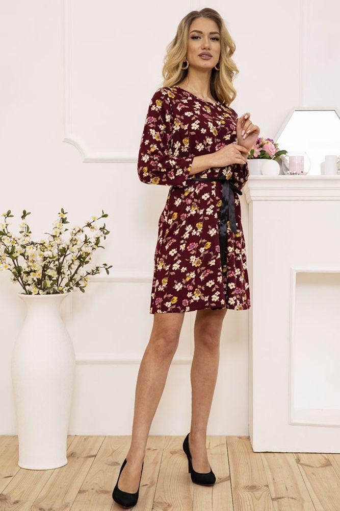 Платье цвет бордовый размер 36 SKL87-301496