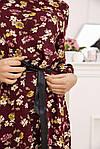 Сукня колір бордовий розмір 36 SKL87-301496, фото 4