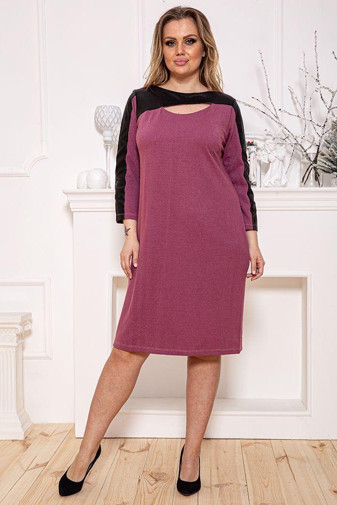 Сукня колір фуксія розмір Xxl SKL87-301507
