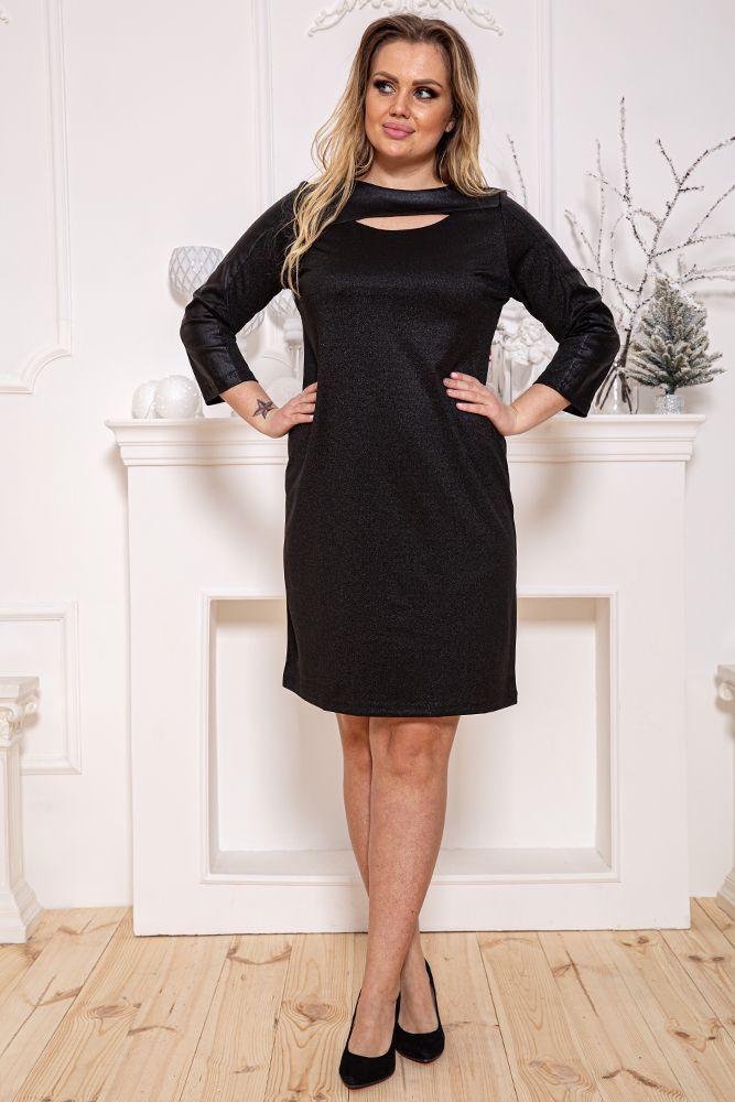 Сукня колір чорний, розмір XL SKL87-301509