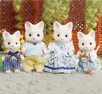 """Детский игровой набор Sylvanian Families """"Семья Кошек"""", фото 1"""