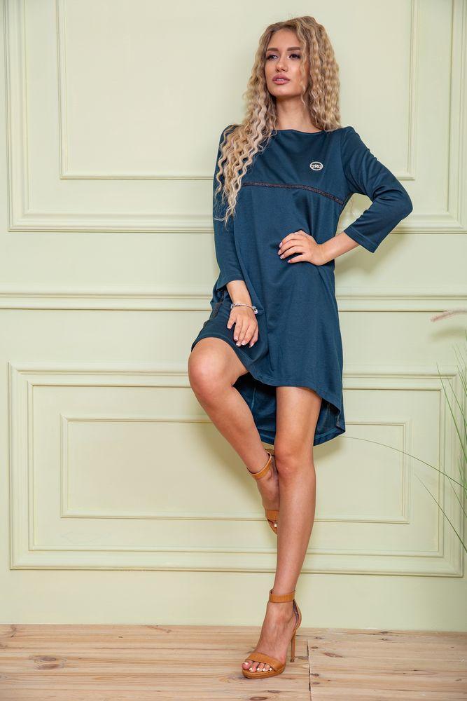 Сукня колір темно-зелений розмір 40 SKL87-301617