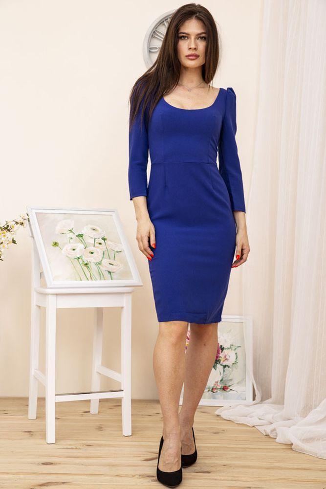 Сукня колір електрик розмір S-M SKL87-301693