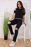 Cпортивный костюм для женщин цвет черный размер M SKL87-297559, фото 2