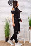 Cпортивный костюм для женщин цвет черный размер M SKL87-297559, фото 3