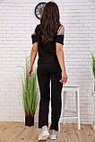 Cпортивный костюм для женщин цвет черный размер M SKL87-297559, фото 4