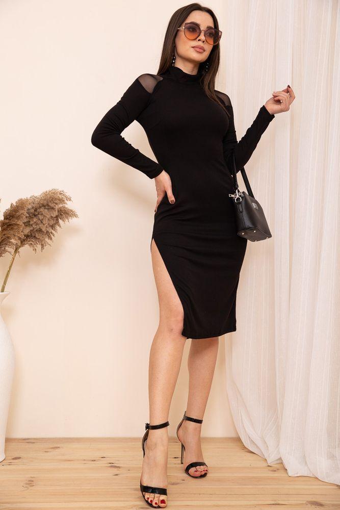 Платье цвет черный размер M SKL87-301796