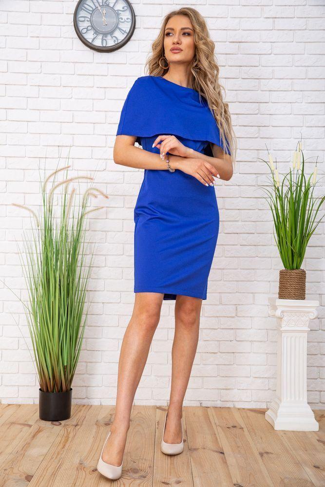 Сукня колір електрик розмір 46 SKL87-301818