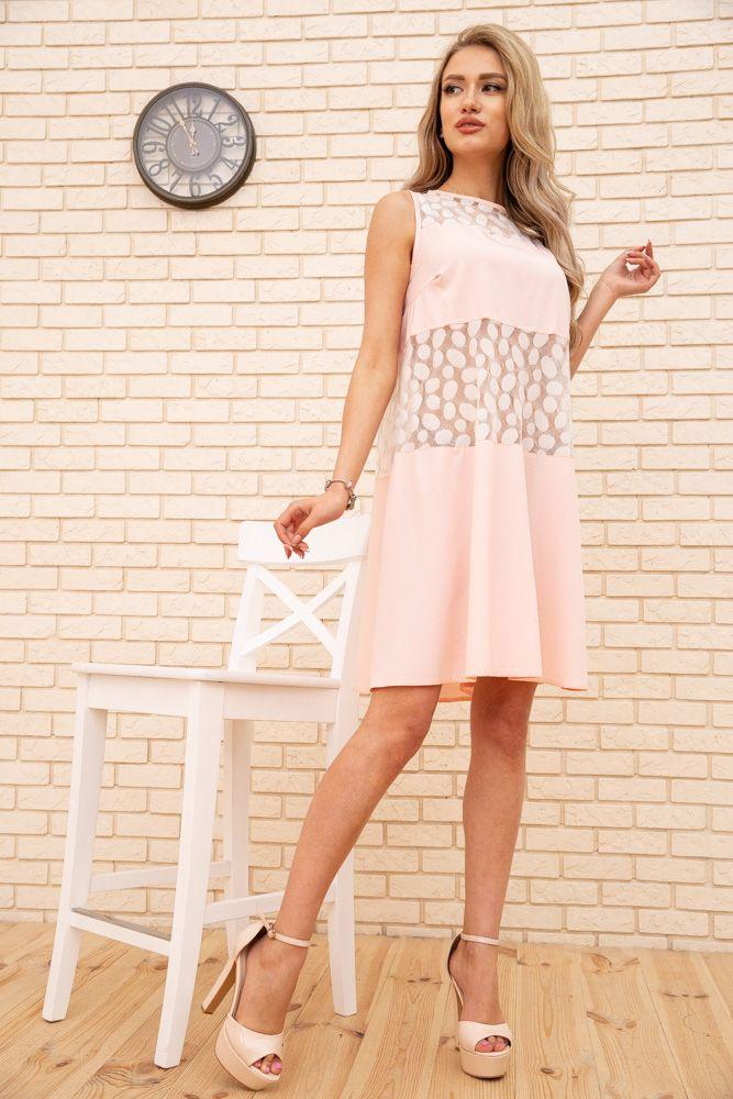 Сукня колір рожевий розмір 42 SKL87-301833
