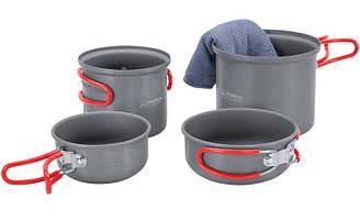 Набор посуды для 1-2 человек Terra Incognita Du Серый TI-DU ES, КОД: 1301100