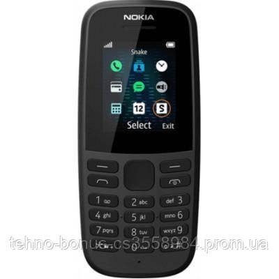 Мобільний телефон Nokia 105 Single Sim 2019 Black