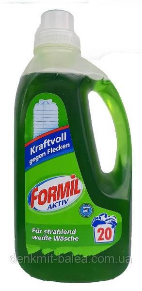 Гель Формил для прання білої білизни Formil Aсtiv Kraftvoll gegen Flacken 1500 мл