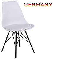 Стул для столовой, кухонный стул tr-87 A1 Белое