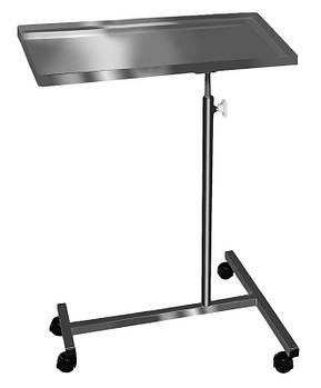 Анестезіологічний столик, стіл анестезіолога пересувний на колесах СА-Н Заповіт