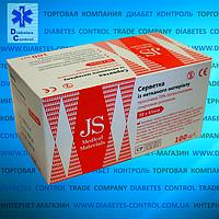 Спиртовые салфетки JS / Джей Эс 100 шт.
