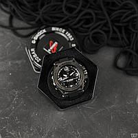 Наручні чоловічі водостійкі електронні годинник Casio G-Shock GLG-1000 кварцові спортивні годинники чорні, фото 2