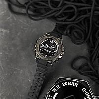 Наручні чоловічі водостійкі електронні годинник Casio G-Shock GLG-1000 кварцові спортивні годинники чорні, фото 4