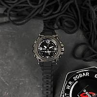 Наручні чоловічі водостійкі електронні годинник Casio G-Shock GLG-1000 кварцові спортивні годинники чорні, фото 3