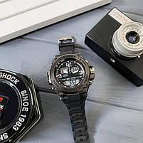 Наручні чоловічі водостійкі електронні годинник Casio G-Shock GLG-1000 кварцові спортивні годинники чорні, фото 7