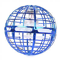Моторизованный летающий шар спиннер Flynova Pro / Flying Spinner Синий