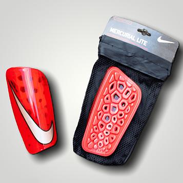 Считки футбольные на рост 160-170 см (защита для футбола) Красный