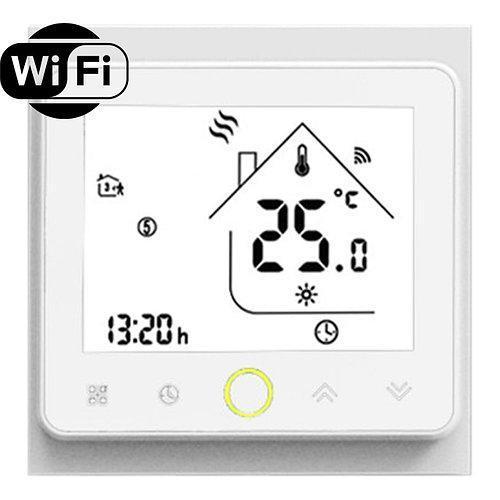 Терморегулятор Castle WiFi white (Білий) серія TWE02