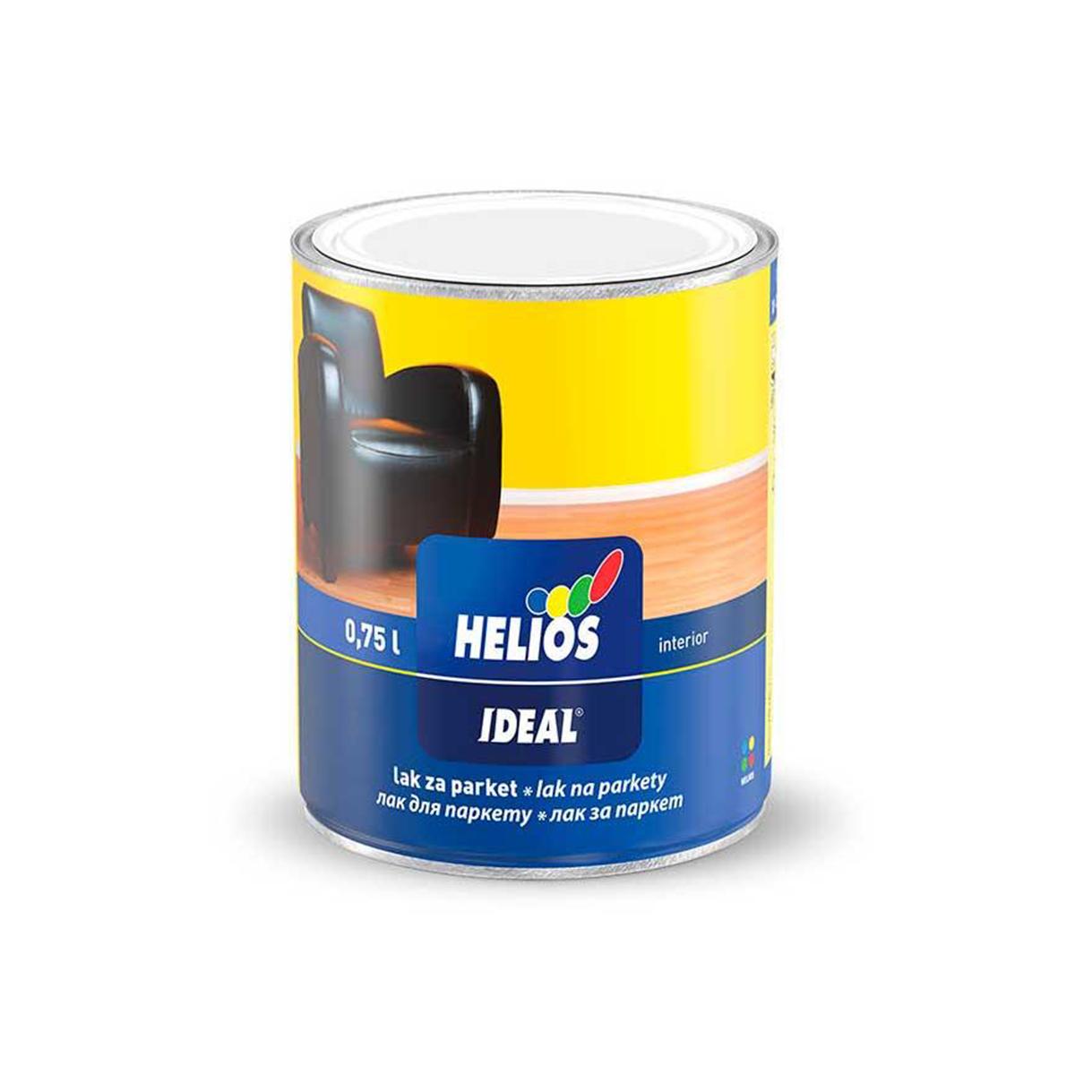 Лак для паркету Helios Ideal глянсовий 2.5л